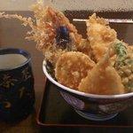 磯茶屋 うおたか - 天丼(1500円)