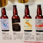 Sakamotoyasakaten - 地ビールを順番に楽しみます(^^)