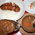 ナイル - カツカレースープセット ¥1480