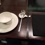 天香回味 - テーブルのセット