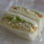 クリーブラッツ - 玉子のサンドウィッチ