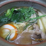 わらびや - 鴨鍋