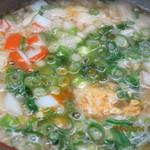 わらびや - 鴨鍋の後の雑炊