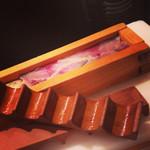 24372053 - 鯖の押し寿司                                              美味。                                              鯖好きな人にお土産で持って行きたい一品