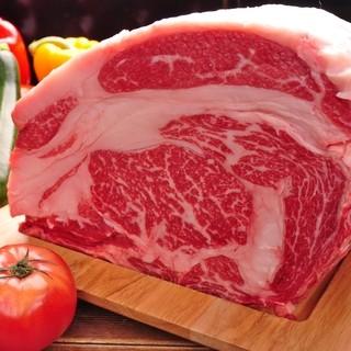 オーダーカットで誰よりも大きいステーキを食べよう♪