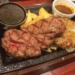 ステーキガスト - 料理写真:誘われてまたお肉Σ(゚д゚lll)
