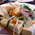のりのり亭 - 豆腐チャンプルー