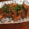 米久 - 料理写真:ホルモン焼き。少々、塩味強め