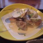 あしあと - 赤魚のオーブン焼き 浅蜊のクリームソース(14-02)