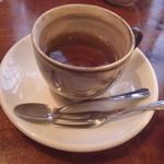 あしあと - 珈琲か紅茶付き 紅茶をチョイス