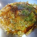 やけっぱち - 野菜肉玉(そば+イカ天)