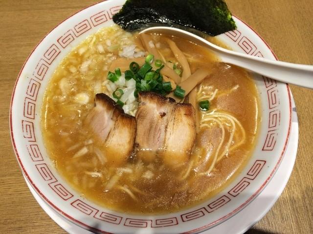 鼈 - 煮干そば(650円)