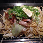 京ちゃばな - 九条葱と豚とろの塩焼きそば 1155円