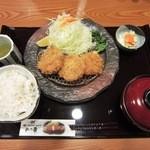 24377477 - ヒレかつ(3個)定食¥1344