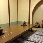 居酒屋しの - 敦賀駅の居酒屋しのの店内はかなり落ち着く。