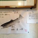 居酒屋しの - 敦賀駅の居酒屋しの店主自慢の・・・