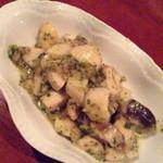 バール カイ - ツブ貝とエリンギの香草焼き