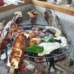 高森田楽村 - 料理写真:ご当地名物高森田楽と地鶏の炭火焼です