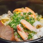 童童 - 土鍋焼きお好み炒飯(プレーン・M)+五目トッピング
