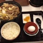 すき家 - 牛すき鍋定食 580円☆(第三回投稿分①)
