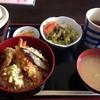 海山 - 料理写真:海老天丼ランチ500円!