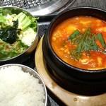 土古里 - 元祖純豆腐定食(ランチ)