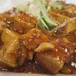 氷花餃子 - 麻婆豆腐(アップ)