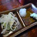 玉川庵 - 薬味