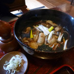 玉川庵 - 牡蠣そば