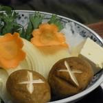 かめや - すき焼きの野菜