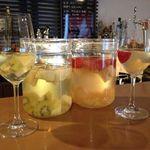 24383681 - 日本酒のサングリアは即完売の大人気メニューですよ。