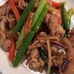 24384583 - 鶏肉と野菜の味噌炒め