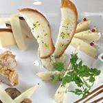 エルクルーカフェ - チーズの盛り合わせ