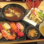 24387740 - 2014/2月 串天定食¥1000円