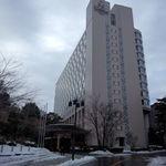 ザ・プリンス さくらタワー東京 - 雪残る さくらタワー東京 外観