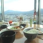 24388179 - 京都の町並みを眺めながらの朝食