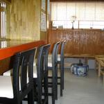 う奈ぎ道場 - カウンター5席テーブル4人席のみ