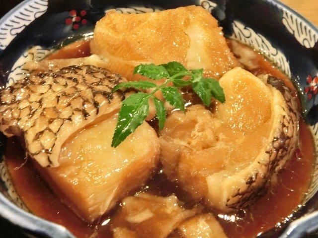 大衆割烹 三州屋 神田駅前店 - 銀むつあら煮 870円