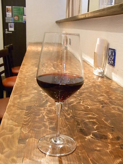 ラ・プローダ - 名前は失念 ハウスワインの赤¥500 軽くて飲みやすい ランチのパスタにはこのくらいがピッタリ♪