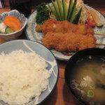 2439276 - チキン串カツ定食