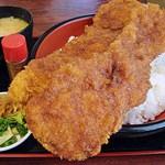 東大門 - メガわらじカツ丼 1500円 (^^b