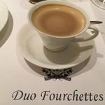 デュオ・フルシェット - コーヒー