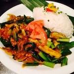 タルカリ - 【つくばカレー】=つくば鶏+つくば野菜