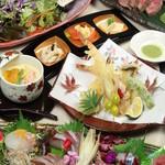 個室焼鳥酒処 こはね ~離れ~ - おもてなし4500円鮮魚豪華盛りコース