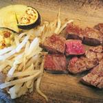 ウメムラ - 料理写真:フィレステーキ&焼き野菜