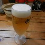 ほんじん - グラスビール