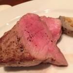 千年葡萄家 - 豚肩ロースのステーキ(800円