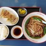 福源 - 焼き餃子定食¥650