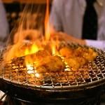 初代吉田 - 2014.2 七輪(炭火)で焼きます