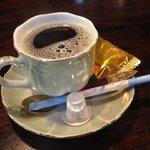 団十郎 - 食後にはコーヒーも付きます♪(第一回投稿分⑤)